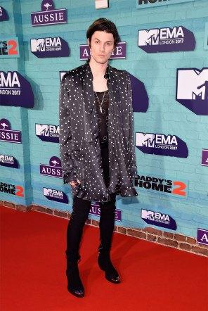 James Bay @MTV EMA 2017