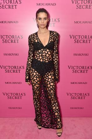 Sara Sampaio @ Victoria's Secret Show 2017