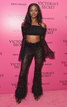 Zuri Tibby @ Victoria's Secret Show 2017