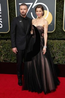 Justin Timberlake y Jessica Biel (Dior)