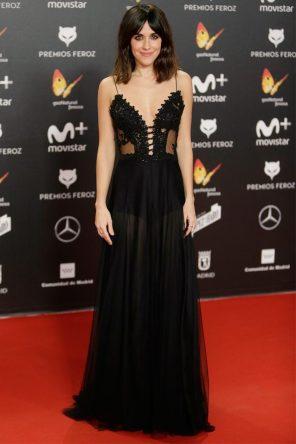 Macarena García (de Dolores Promesas) @ Premios Feroz 2018