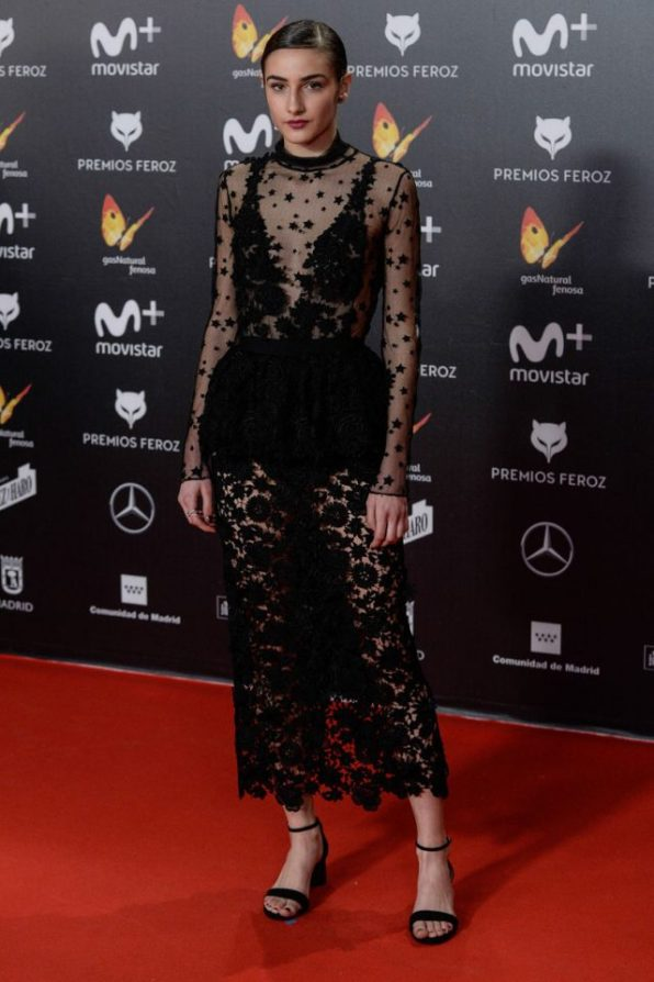Sandra Escarcena (de Alicia Rueda) @ Premios Feroz 2018
