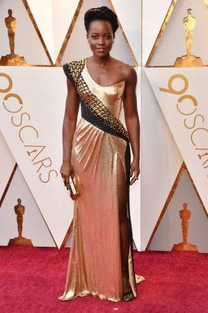 Lupita Nyong'o (Versace) @ Oscar 2018