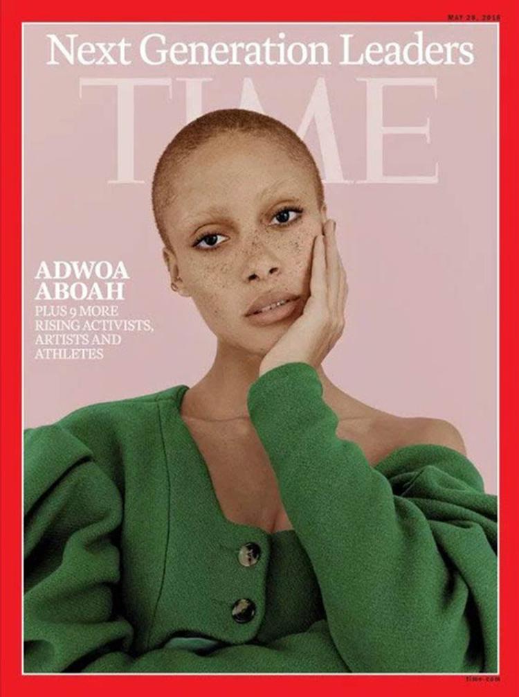 Adwoa Aboah @ Time