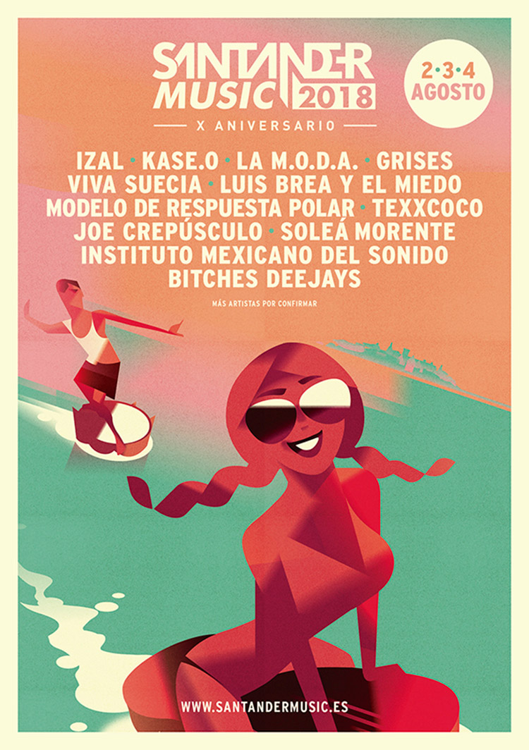 Santander Music 2018 (cartel)