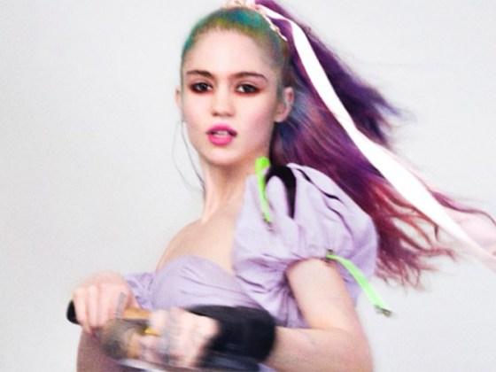 """""""We Appreciate Power"""" de Grimes"""