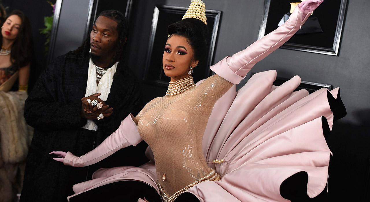 Cardi B @ Grammy 2019