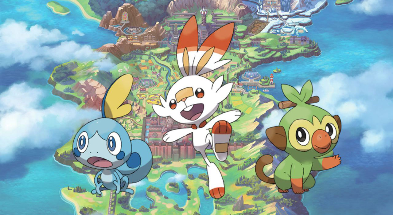 """Pokémon Espada"" y ""Pokémon Escudo"""