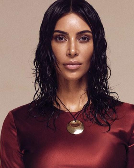 Kim Kardashian @Vogue