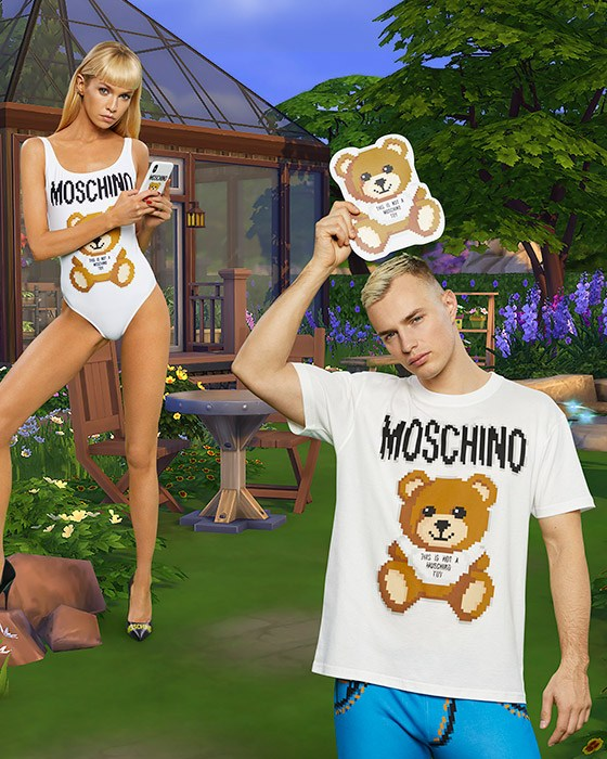 Moschino x Los Sims