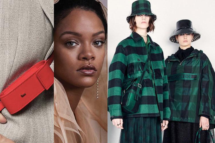 UP: Jacquemus, Rihanna, Dior
