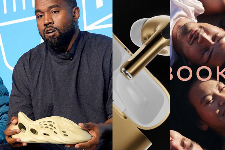 DOWN: Kanye West, AirPods, Facebook
