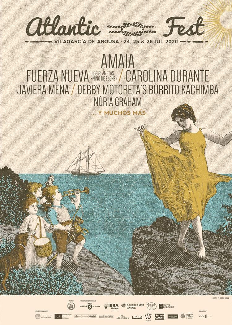 Atlantic Fest 2020 (cartel)