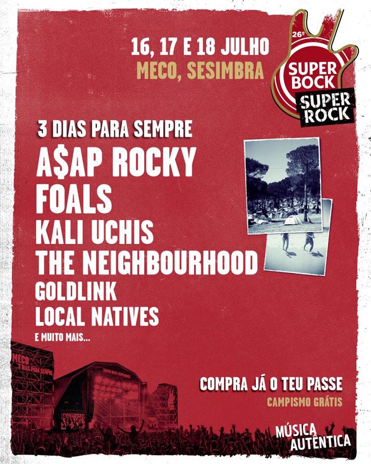 Super Bock Super Rock 2020 (cartel)