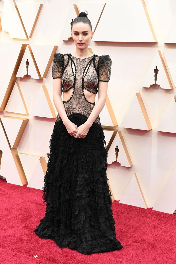 Rooney Mara (Alexander McQueen)