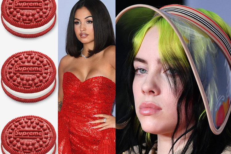 DOWN: Supreme, Brit Awards 2020, Billie Eilish...