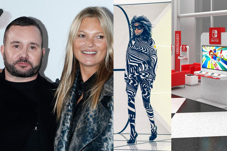 UP: Kim Jones, Kate Moss, Moncler, Richard Quinn, Nintendo...