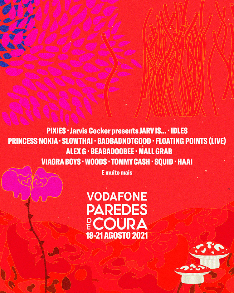 Paredes de Coura 2021 (cartel)