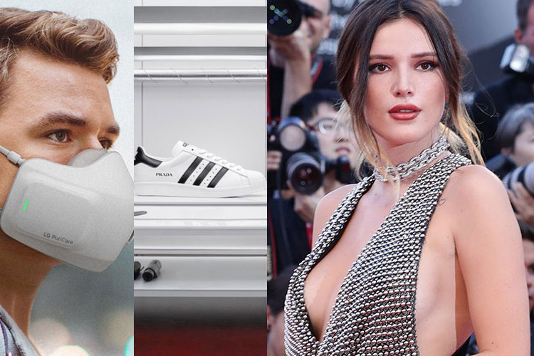DOWNS: LG, Prada x adidas, Bella Thorne...