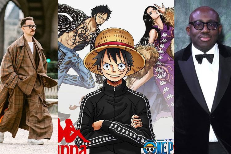 UP: Pata ancha, One Piece x KAPPA, Edward Enninful...