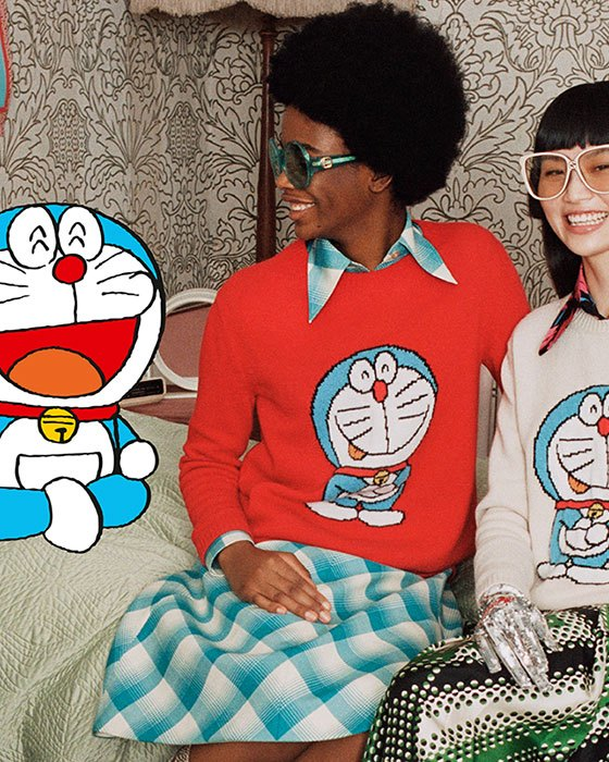 Gucci x Doraemon
