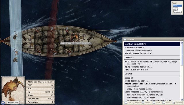 Formatted Stat blocks in pathfinder maptool campaign file