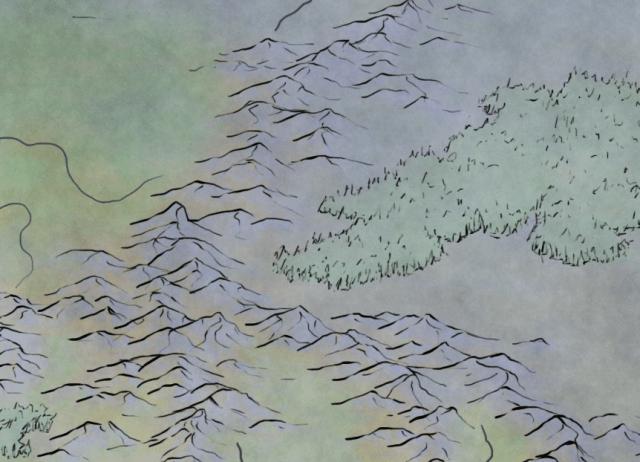 Colour layer for the stormpunk fantasy pathfinder world of Rhune: Dawn of Twilight