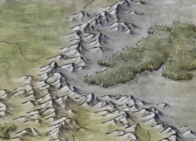 Detail for the stormpunk fantasy pathfinder world of Rhune: Dawn of Twilight