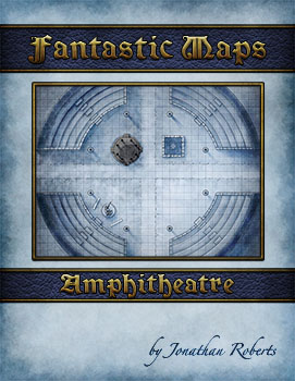 Amphitheatre Map Pack Cover for fantasy city map pack