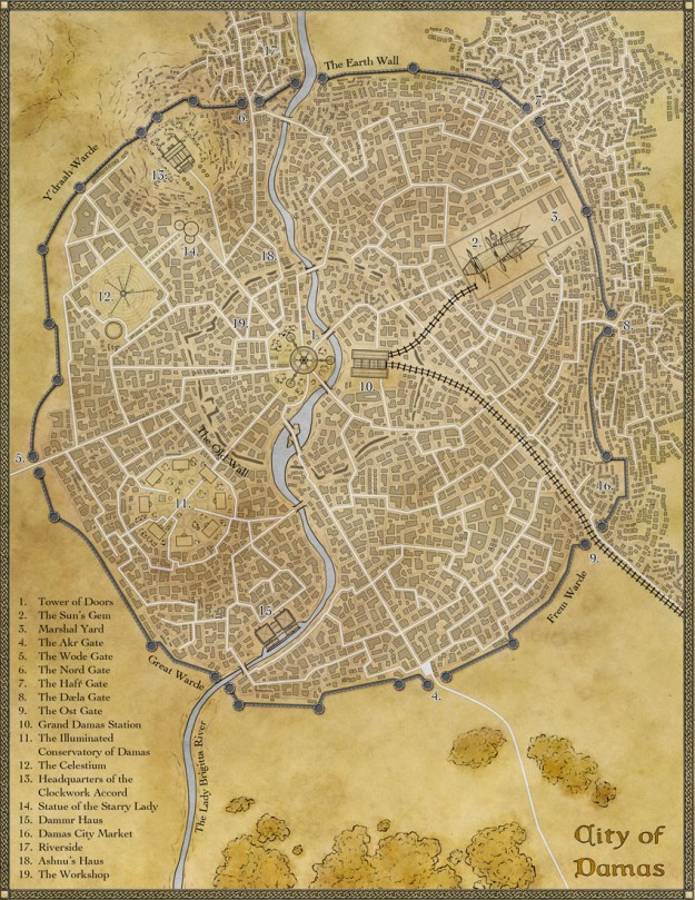 The fantasy city of Damas