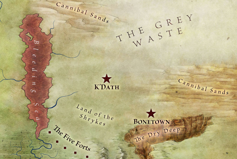 Official World Map of A Song of Ice and Fire - Fantastic Maps