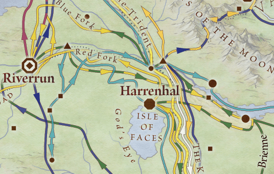 Harrenhal and the Inn at the Crossroads