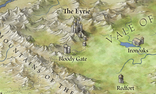 The Eyrie from Westeros