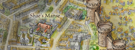 Shae's Manse from the Official Map of King's Landing for Game of Thrones