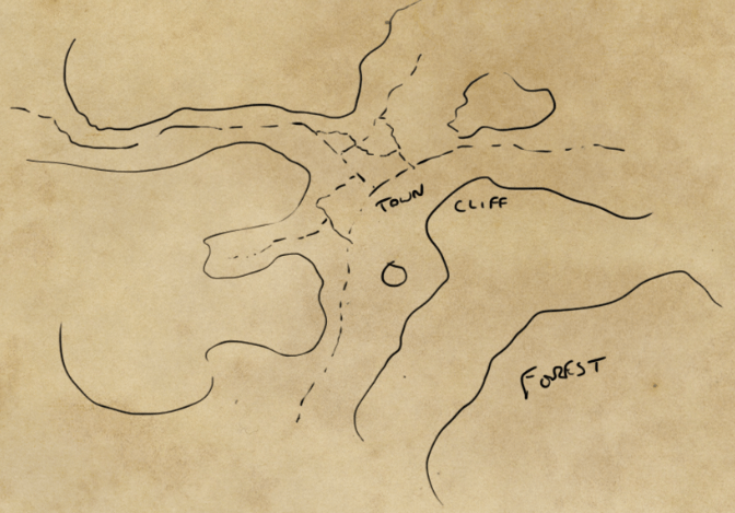 how to draw a map: sketch