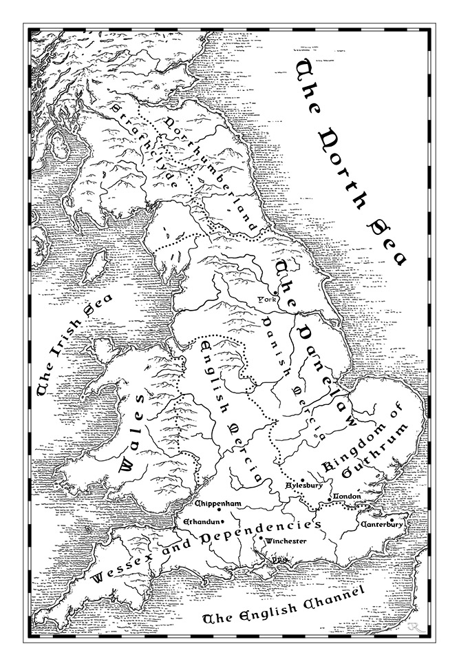 Map of Britain under Danelaw