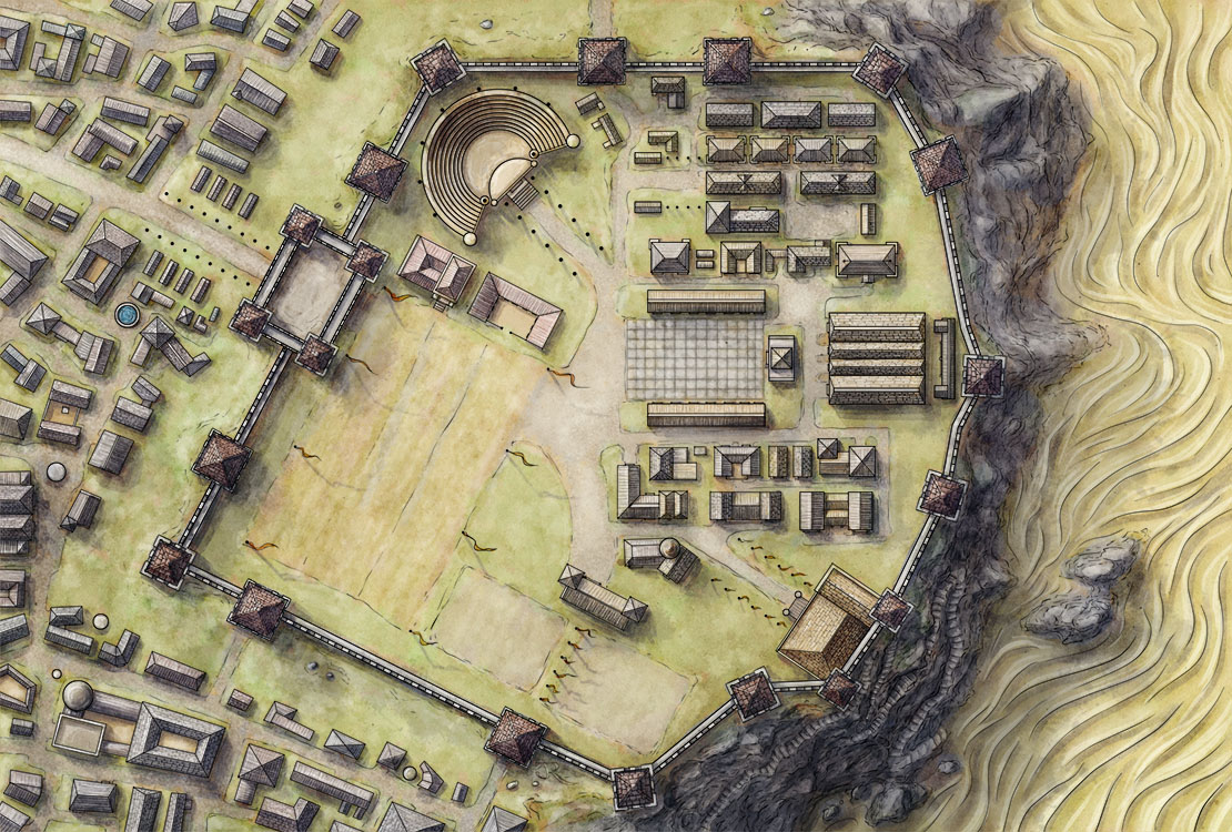 Mapping Blackcliff Academy For An Ember In The Ashes