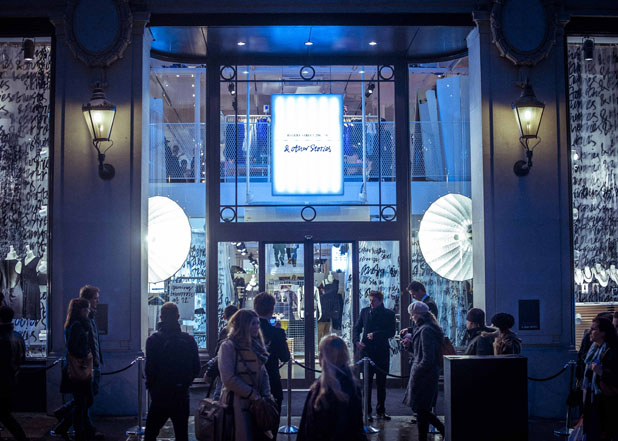London Store Opening Event
