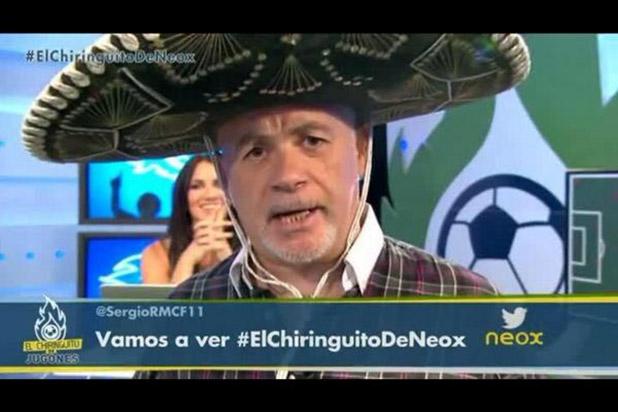 El Chiringuito de Neox mexicanizado: tequila, fútbol y...