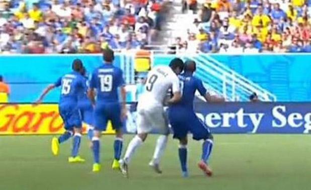 Luis Suárez dejó huella en el pasado Mundial de Brasil