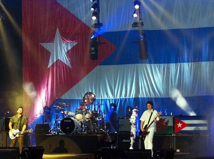 Manic Street Preachers en Cuba