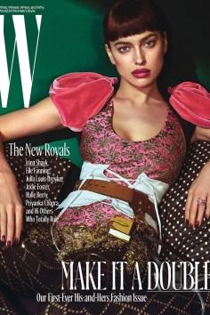 Irina Shayk / New Royals @ W Magazine