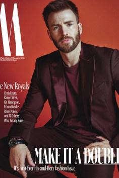 Chris Evans / New Royals @ W Magazine