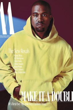 Kanye West / New Royals @ W Magazine