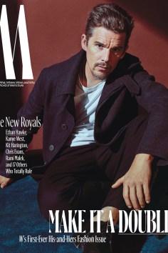 Ethan Hawke / New Royals @ W Magazine