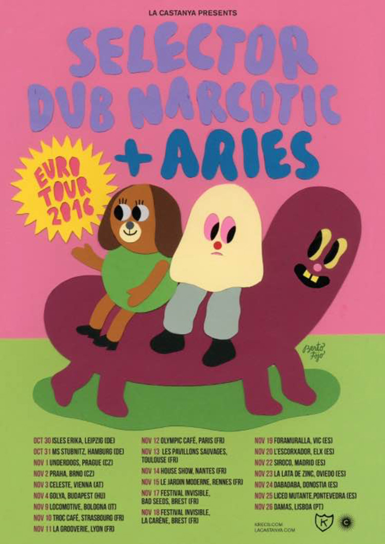 Aries cartel gira europea