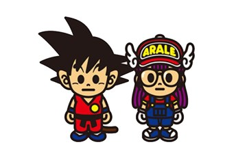 BAPE x Dragon Ball x Arale