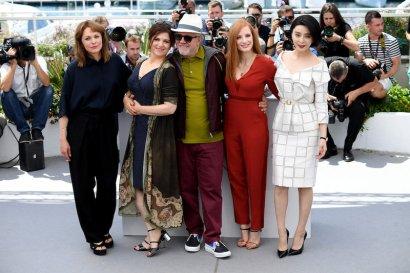 Maren Ade, Agnès Jaoui, Pedro Almodóvar, Jessica Chastain y Fan Bingbing @ Cannes 2017