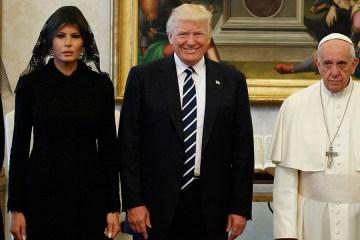 Los Trump y el Papa