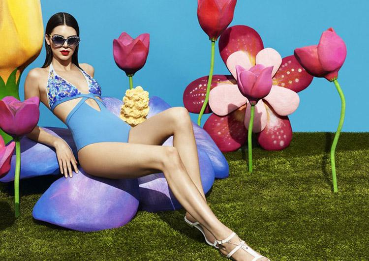 Kendall Jenner para La Perla